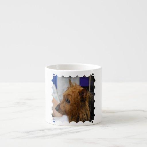 Taza de la especialidad de Terrier australiano Taza Espresso