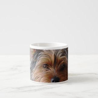 Taza de la especialidad de Yorkie Terrier Tazitas Espresso