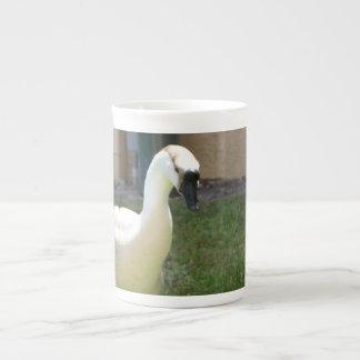 Taza de la especialidad del ganso taza de porcelana