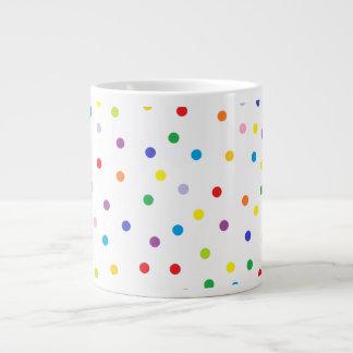 Taza de la especialidad del lunar taza extra grande