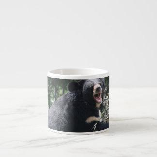 Taza de la especialidad del oso el gruñir tazas espresso