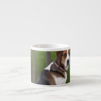 Taza de la especialidad del raposero inglés tazas espresso