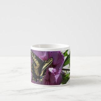 Taza de la especialidad - mariposa de Swallowtail Taza Espresso