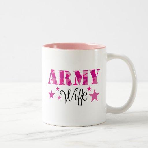 Taza de la esposa del ejército