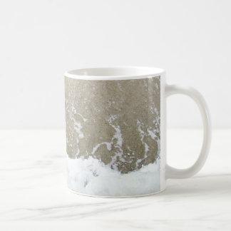 Taza de la espuma del mar de la isla de Sampson