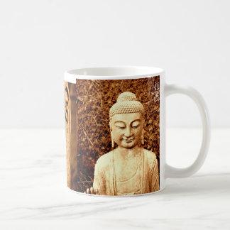 taza de la estatua de Buda
