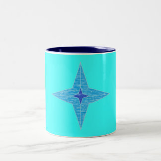 Taza de la estrella azul