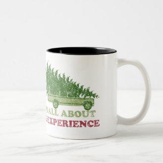 Taza de la experiencia del navidad