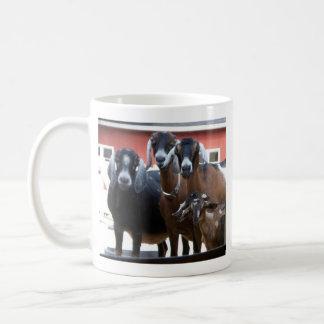 Taza de la familia de la cabra (el doble echó a un