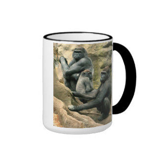 Taza de la familia del gorila