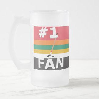 Taza de la fan de hockey #1 6-Band