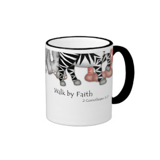 "Taza de la fe de BaZooples ""paseo por"""