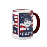 Taza de la fe de Sarah Palin