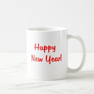 Taza de la Feliz Año Nuevo
