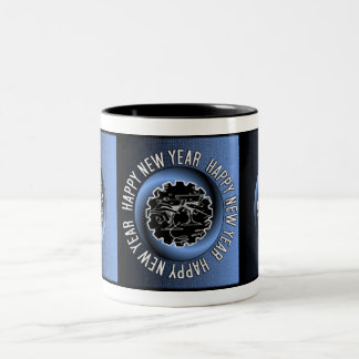 Taza de la Feliz Año Nuevo 2