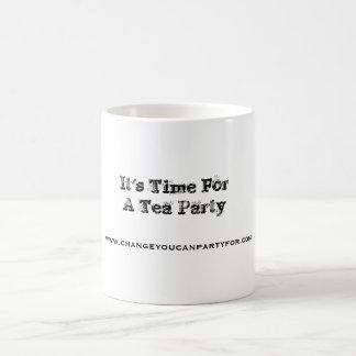 Taza de la fiesta del té