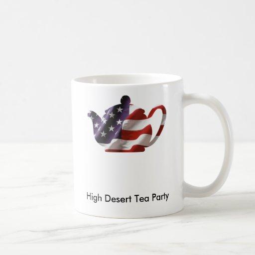 Taza de la fiesta del té del desierto