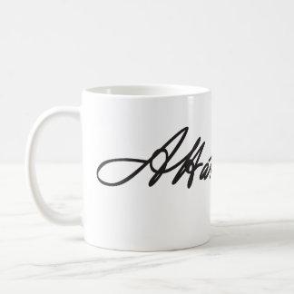 Taza de la firma de Alexander Hamilton