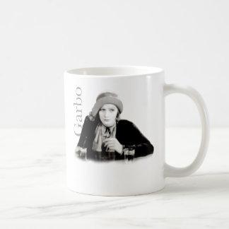 Taza de la firma de Greta Garbo