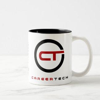 Taza de la firma de la identidad de CareerTech con