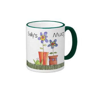 taza de la flor