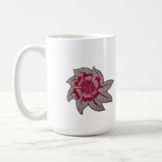 taza de la flor del dunno