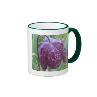 Taza de la flor del Fritillary