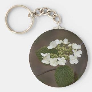 Taza de la flor salvaje llavero redondo tipo pin