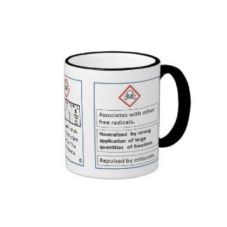 Taza de la fórmula molecular de BaRaCK