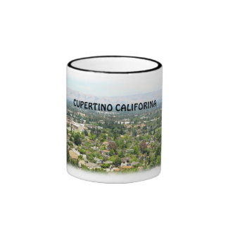Taza de la foto de Cupertino California
