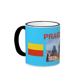 Taza de la foto de la República Checa PRAGUE*