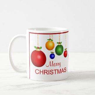 Taza de la foto de las Felices Navidad