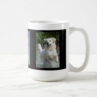 Taza de la foto de los amantes del perro del