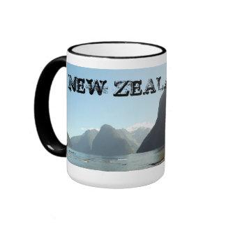 Taza de la foto de Nueva Zelanda