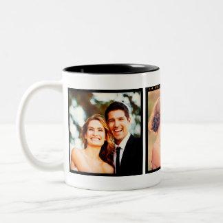 Taza de la foto del boda de Instagram