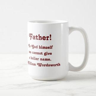 Taza de la foto del día de padre