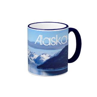 Taza de la foto del Glacier Bay