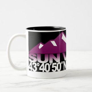 Taza de la frambuesa de GPS de la montaña de Sun