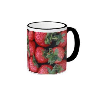 Taza de la fresa