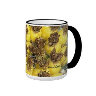 Taza de la fruta del cactus de barril