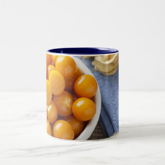Taza de la fruta del Physalis