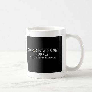 Taza de la fuente del mascota de Schrodinger