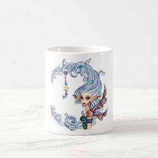 Taza de la hada de señora Luna