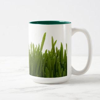 Taza de la hierba del trigo