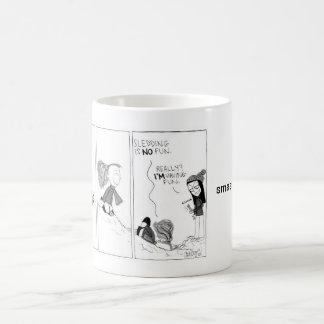 """""""Taza de la historieta del día de la nieve"""""""