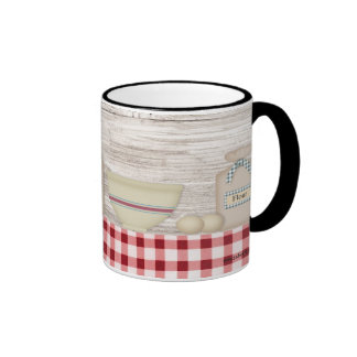Taza de la hornada del país