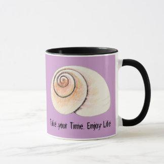 Taza de la huelga intermitente del caracol