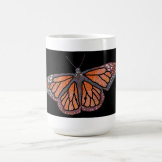 Taza de la imagen 1 de la mariposa de monarca