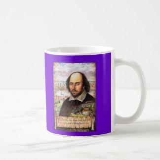Taza de la imagen de William Shakespeare