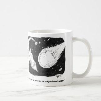 Taza de la investigación del cometa